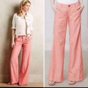 Daughter of Liberation Linen Wide Leg Pants (EM00)